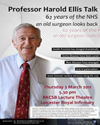 University Of Leicester Leicester Scrubs 62 Years Of The Nhs An Old Surgeon Looks Back