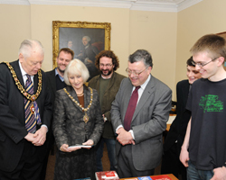 University Of Leicester Lord Mayor And Lady Mayoress In Historic Visit