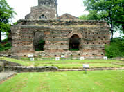 Photograph of the Jewry Wall in Leicester