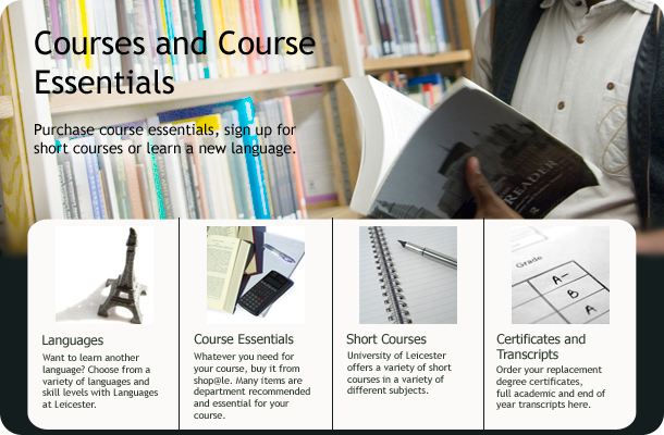 Courses and Essentials