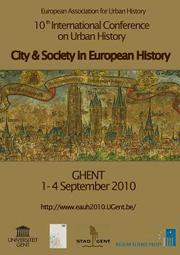 Urban History News : CUH : Centre for Urban History : School